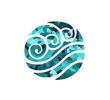 Crystallized Waterbending Emblem by nachophile