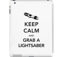 Keep Calm Lightsaber iPad Case/Skin