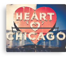 Heart of Chicago Canvas Print