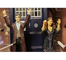 """""""Out of the frying pan and into the fire eh Clara?"""" Photographic Print"""