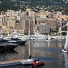 Monte Carlo Sailing - Monaco, French Riviera  by Georgia Mizuleva