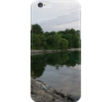 Summer Morning Tranquility - Lake Ontario in Toronto iPhone Case/Skin