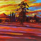 Morning Shadows at Blackbutt by Cary McAulay