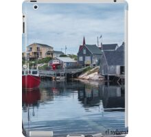 Pegggies Cove Nova Scotia  iPad Case/Skin