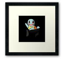 Pocket Squirtle Framed Print