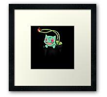 Pocket Bulbasaur Framed Print