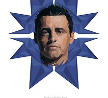 Vector Celebrities - Matt LeBlanc by Ravin Wong
