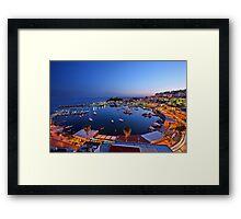 Mikrolimano & Kastella - Piraeus Framed Print