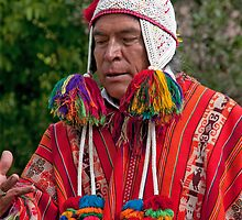 Incan Shaman by phil decocco