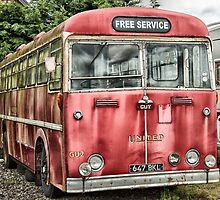 The old red bus by Judi Lion