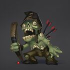 Zombie Commoner by BitGem