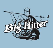"Dalai Lama ""Big Hitter"" T-Shirt by GShack"