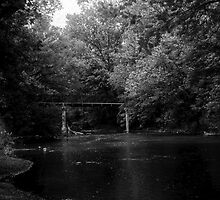 Lost Bridge - B&W by HRidgeFilms