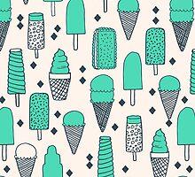 Ice Cream Season - Bright by Andrea Lauren by Andrea Lauren