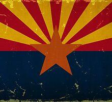 Arizona State Flag VINTAGE by Carolina Swagger