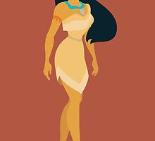 Pocahontas Illustration by realGabe
