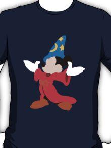Fantasia Mickey Illustration T-Shirt