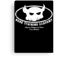 Berk Training Academy Canvas Print