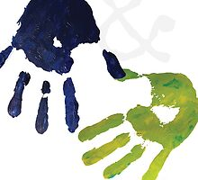 Romeo & Juliet Handprints by TOPtheaterCo
