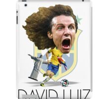 David Luiz iPad Case/Skin