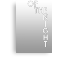Bastille - Of The Night #2 Canvas Print