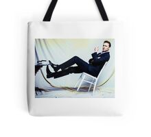 Tipped  Tote Bag