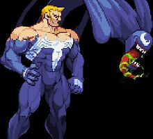 Marvel Vs. Capcom 2 Venom by Pr0NinjaSloth