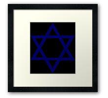 Jewish Star of David Framed Print