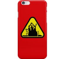 Beware of the Graboid! iPhone Case/Skin
