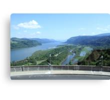 Columbia River Gorge Canvas Print