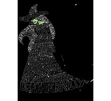 WICKED Musical Elphaba Photographic Print