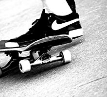 Skateboard -- power slide by ThymeJJ