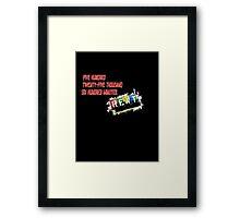 Rent the Musical Seasons Of Love Framed Print
