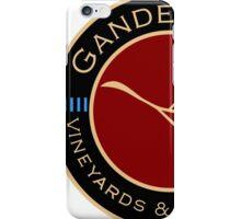 Gander Way Vineyards & Winery, LLC Logo iPhone Case/Skin