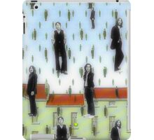 Beatles and Magritte iPad Case/Skin