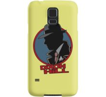 Dixon Hill is on the case Samsung Galaxy Case/Skin
