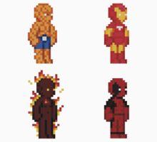 Marvel Pixel Heroes! by Jyles Lulham