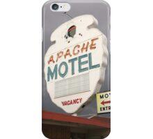 Apache Motel iPhone Case/Skin