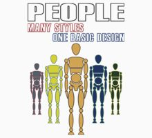 Different people, same design. by bodTees