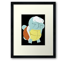Squirtle About to Barf Framed Print