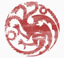 Game of Thrones Targaryen Sigil  by ComedyQuotes