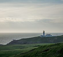 Killantringan Lighthouse on the South West Coast of Scotland by Luke Griffiths