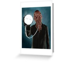 Ood (Doctor Who) Greeting Card