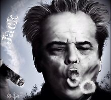 Jack Nicholson  by themighty