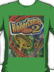 RollerCoaster Tycoon 2 Faded T-Shirt