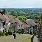 """ Gold Hill,Shaftesbury 2014 "" by Richard Couchman"