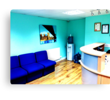 Office Area Canvas Print