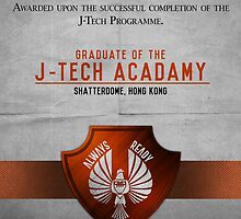J-Tech Acadamy Graduate Certificate  by Rizwanb
