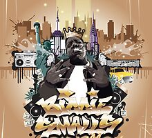 Biggie Smalls by MsShyne