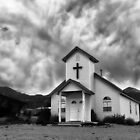 Church In the Desert by Kathy Weaver